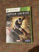 Captain America: Super Soldier (Microsoft Xbox 360, 2011) Complete And Tested