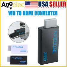 Portable Wii to Hdmi Full Hd 1080P Converter Wii2Hdmi Audio/Video Output Adapter