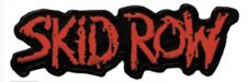 Skid Row Embroidered Patch S010P Pantera Cinderella Ac/Dc Faith No More