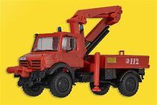 Kibri 18271 H0 LKW Unimog Feuerwehr mit Palfinger Kran
