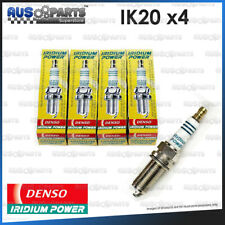 4 Denso IRIDIUM Spark Plugs IK20 for '10~'12 Citroen C3 with 1.4L TU3A 4cyl