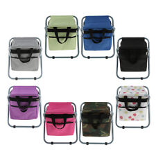 Portable Stool Backpack Fishing Cooler Bag Chair Bench for Outdoor Picnic