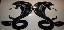 SNAKE DECALs FAIRINGS STICKERS motorcycle HELMET 2X 300MM ANY COLOUR! large HQ