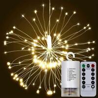 180 LED Licht Lichtervorhang Fernbedienung Weihnachtsbeleuchtung Lichterkette ly