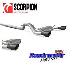 "Scorpion FOCUS RS MK3 Cat Back Exhaust 3"" nonres no Valve Noir Daytona SFD085DC"