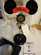 Rare Disney Mickey Mouse Ears Am-Fm Vintage Old Time Microphone Tabletop Radio