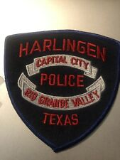 Texas Police - Harlingen Police   TX  Police  Patch