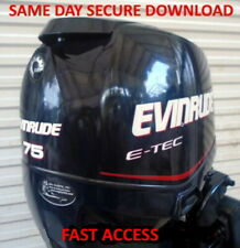 2007 Evinrude ETEC 115 150 175 200 HP Outboard Service Manual - FAST ACCESS