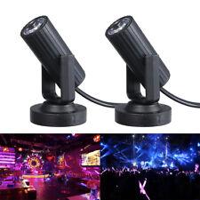 2stk LED Punktstrahler Spot Licht DJ Bühnenlicht Party DJ Bühnenbeleuchtung