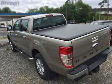 2012 - 2016 Ford Ranger Tri Folding Soft Tonneau Bed Canopy Cover 4x4 Non Drill