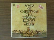 SONGS OF CHRISTMAS - NORMAN LUBOFF CHOIR 22 All Time Favorite Songs - NEW SEALED