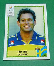 N°124 PONTUS KAMARK SVERIGE SUEDE PANINI FOOTBALL UEFA EURO 2000