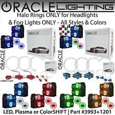 ORACLE Halo Kit for Headlights & Fog Lights for 15-19 Silverado 2500 HD 3500 HD