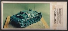SOVEREIGN SV35 - STUG III ausf C&D FULL KIT - 1/35 RESIN KIT RARITA'