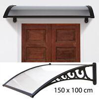 pensilina supporto in resina cm 100x150 copertura tettoia per esterno