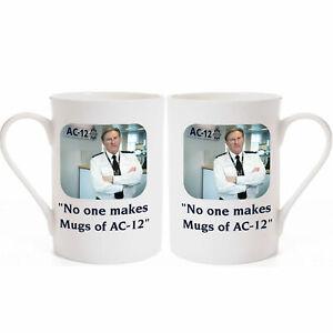 """""""No one makes Mugs of AC12"""" Adrian Dunbar of Line of Duty Porcelain Mug"""