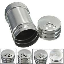 frascos de especias de acero inoxidable de especias de metal agitador salero