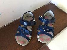 Sandaletti sandali vernice blu bimba n.20