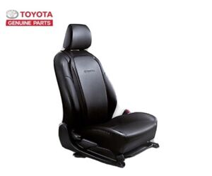 GENUINE TOYOTA ACCESSORIES THE BACK PLATE RELAXES WHILE DRIVING BLACK RED THREAD
