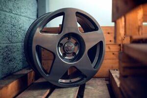 "fifteen52 Tarmac 17"" x 7.5"" 5x100 Grey ET30 alloys fit VW Corrado VR6 91 - 96"