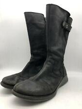 MERRELL Travvy Tall Womens Black Waterproof Walking Calf Length Boots UK 8 EU 42