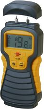 Professional Moisture Content Detector Meter Tester Wood Concrete Brick Screed
