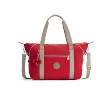 fcc2f6b9a1 Kipling ART Large Travel Tote Shoulder Bag TRUE RED C - SS18 - RRP £89