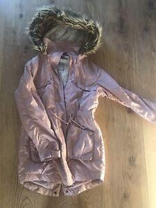 girls parka coat Age 12