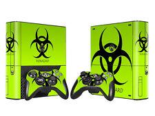 Xbox 360 e skin Design foils pegatinas película protectora set-Biohazard motivo