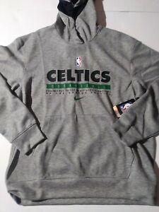 Size Large Nike NBA Boston Celtics Hooded Sweatshirt Gray Style CN3832 063