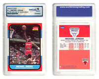 MICHAEL JORDAN 1996-97 Fleer ULTRA DECADE Excellence Rookie Card #U4 - GEM MT 10