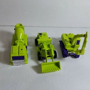 80s Transformers G1 Combiners Devastator Figure Lot Scrapper Mixmaster Scavenger
