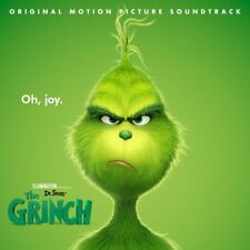 DR. SEUSS THE GRINCH - Soundtrack CD *NEW* 2018 Danny Elfman