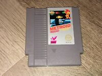 Metroid Nintendo Nes Cleaned & Tested Authentic