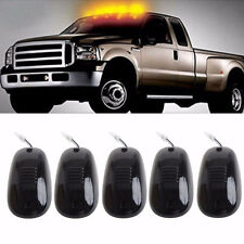 5x 12LED Smoked Cab Roof Top Marker Running Clearance Warm Light For Dodge Ford