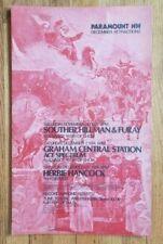 Original (1974) GRAHAM CENTRAL STATION Herbie Hancock Cardboard Concert POSTER