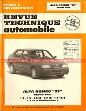 ALFA ROMEO 33 1.3 1.5 1.5 IE 1.7 IE 1.7 16S Permanent 4 : Revue Technique