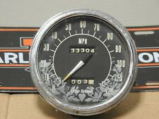 Harley Davidson OEM Shovelhead Panhead Flathead Speedometer
