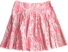 INC International Concepts Size 12 Embellished A-Line Skirt Wallpaper Paisley