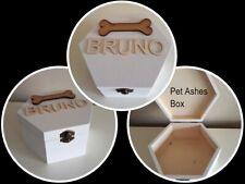Personalised Pet Dog Ashes Memory Box