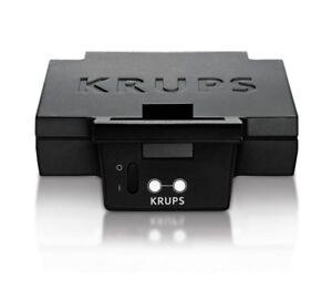 Krups FDK451, Sandwichmaker (schwarz)
