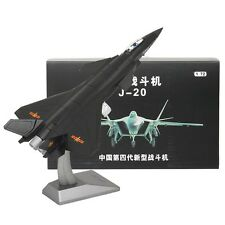 1/72 Fire Fang China Air Force Chengdu J-20 Aircraft Black Eagle Stealth Fighter