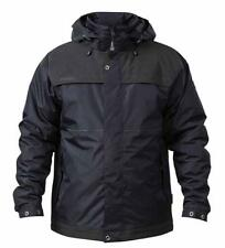 Apache Workwear ATS 3000mm Men Waterproof Performance Hooded Work Coat Jacket Black 2xl