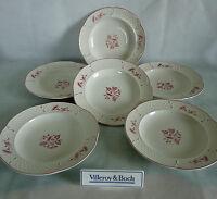 V&B Villeroy & Boch  Val Rouge   6 x Suppenteller  tiefe Teller 22,5  cm