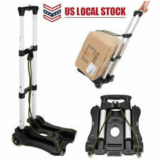 Lightweight Folding Hand Truck Portable Luggage Cart with Wheels & Bungee e 14