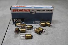 10x Sylvania Automotive Mini Lamp Bulbs 33459 34-2732 394-1009-7 T3.25 6V 1.5W