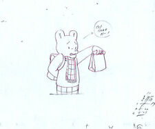 Rupert Bear Original Production Animation Early Stage Pencil Drawing #A19688