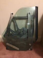86 - 94 Classic Saab 900 Convertible RR Window Sliding Glass W/ Seal & Regulator