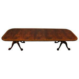 NDRT014, Niagara Furniture,  Chippendale Dining Table, Mahogany Dining Table