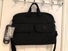 NWT Authentic Black Kipling Laptop Messenger Crossbody Bag Purse  $68